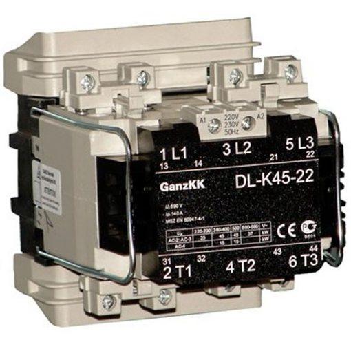 DL-K45-22 Mágneskapcsoló (45 kW, AC-3, 400V)