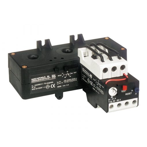 H6 113-168A áramváltós hőkioldó