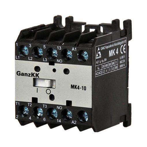 MK4-10 Minikontaktor (4 kW, AC-3, 400V)