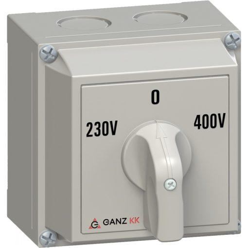 KKM0-20-6066 230V-0-400V kézikapcsoló
