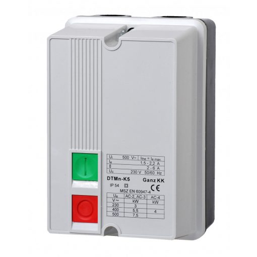 DTMn-K11/3.3-4.9A/ 220-230V motorvédő