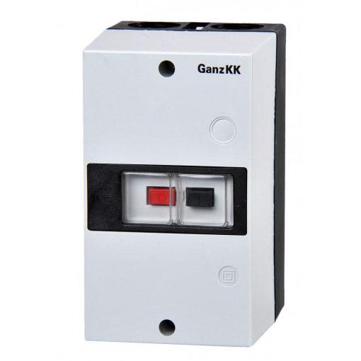 műanyag tokozás IP 55 GMV 25f motorvédőhöz