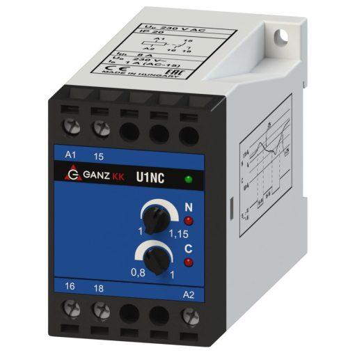 U1NC/230V egyfázisú feszültségrelé