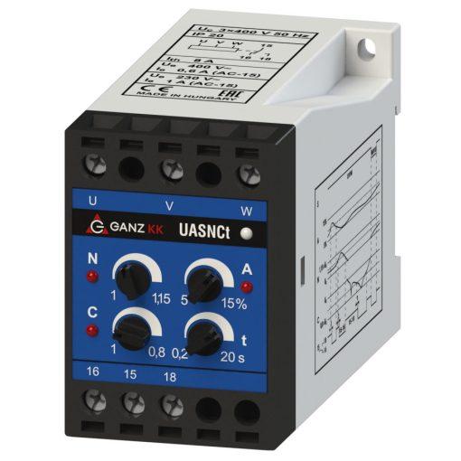 UASNCt/3x400V háromfázisú feszültségrelé