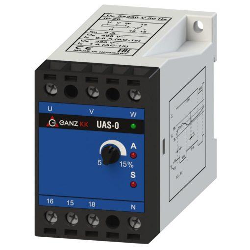 UAS-O/3X230V/400V AC háromfázisú feszültségrelé